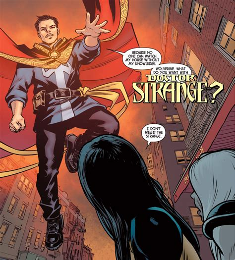 All New Quot doctor strange all new wolverine comicnewbies