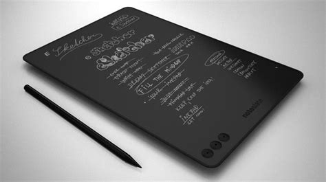 e paper writing tablet noteslate an e ink tablet made for writing wired