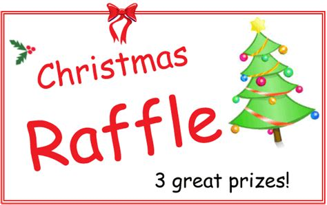 images of christmas raffle tickets christmas raffle spiral inc