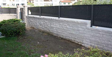 muro giardino muro a secco per giardino 174 by bk