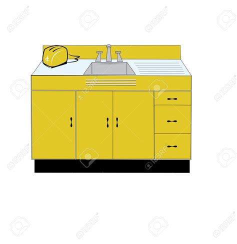 kitchen sink furniture furniture clipart kitchen sink pencil and in color