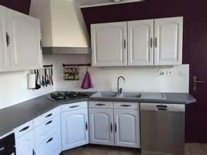 cuisine peinte en blanc chaios