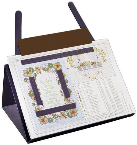 needlework pattern holder f a edmunds graph gripper pattern holder 123stitch com