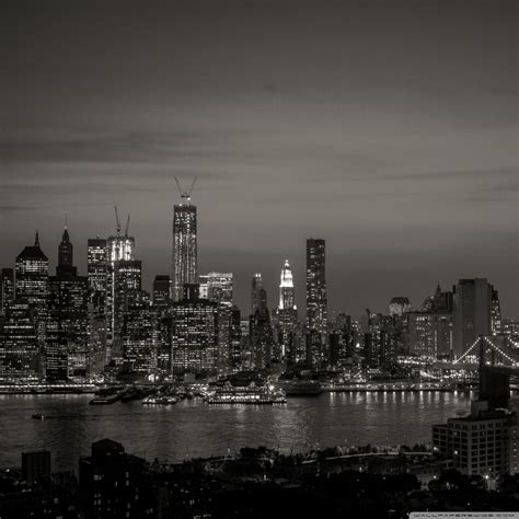 york city black  white  hd desktop wallpaper