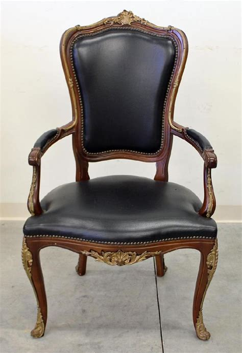 Fashioned Armchairs by Louis Xv Style Armchair