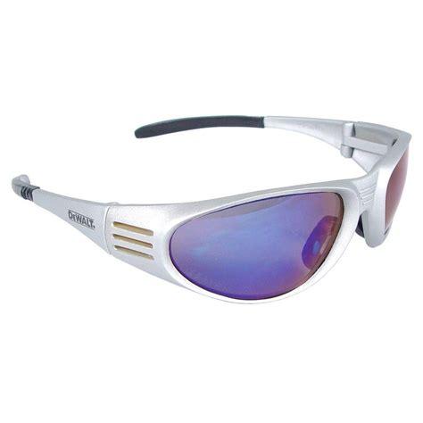 Dewalt Safety Glasses Ventilator Black Dewalt Safety Glasses Ventilator With Blue Mirror Lens