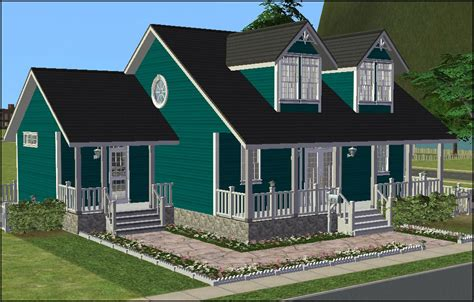 house interior s for sims 3 pretty small modern glass mod the sims cozy cape cod cottage