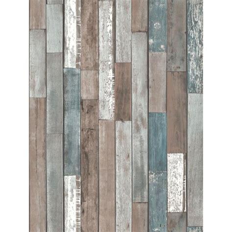 Planches de bois Papier Peint   Bleu   FD40888   Achat
