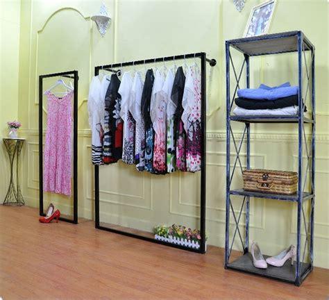 Rak Dinding Toko rak display pakaian toko pakaian rak lantai wall hanging