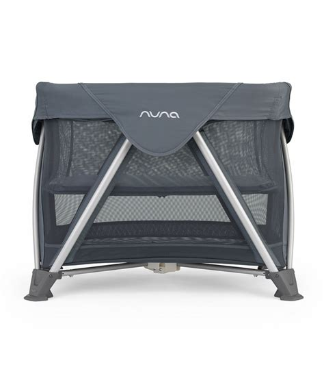 nuna aire mini travel crib graphite
