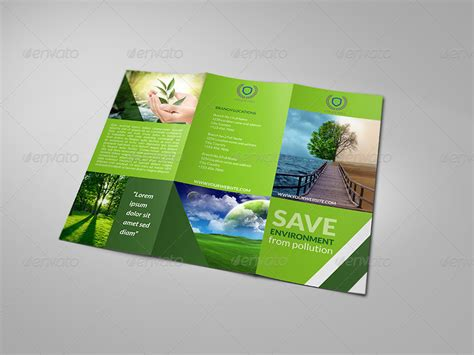 brochure template environmental environment tri fold brochure by owpictures graphicriver
