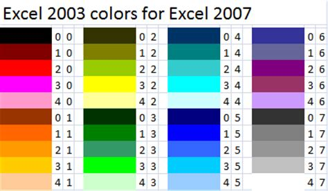 color palette exles eye candy 6 from alien skin part 2 making excel 2007