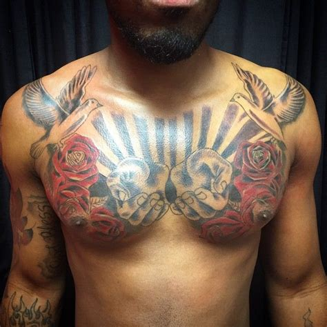 shoulder to chest tattoo designs best 25 front shoulder tattoos ideas on