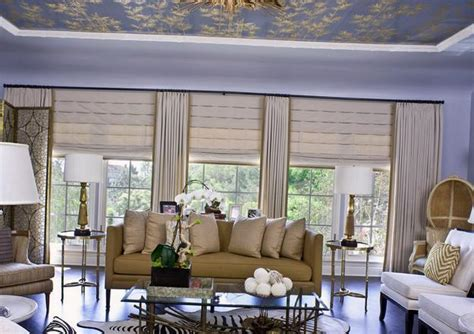 window treatments modern living room los angeles 25 roman shades and curtain ideas to harmonize modern