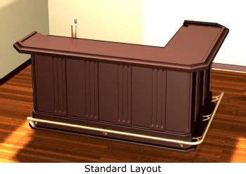 L Shaped Bar Table Home Build Your Own Bar And Classic On Pinterest