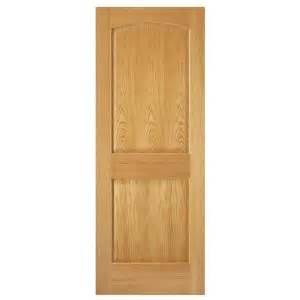Steves And Sons Interior Doors Steves Sons 32 In X 80 In 2 Panel Arch Solid Oak Interior Door Slab Home Arches And We