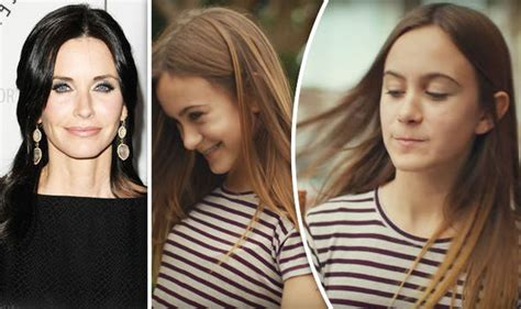 courteney cox daughter coco courteney cox s daughter coco inspires and stars in new