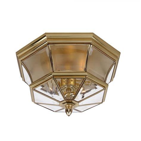 Brass Flush Ceiling Light Deckenle Flush Fitting Gold Ceiling Light For Indoor Outdoor Or Bathroom Use