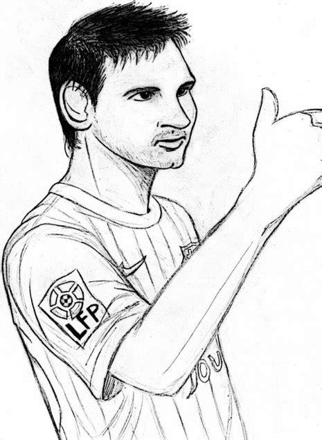 dibujos para colorear dibujos de leo messi dibujos de jugadores de f 250 tbol famosos para pintar messi