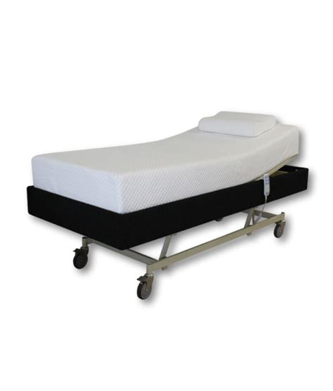 futon care i care luxury ic222 hospital bed base mattress in