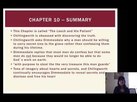 scarlet letter chapter 6 themes the scarlet letter 9 12 youtube