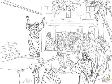 coloring page zechariah at the temple prophet micah exhorts the israelites to repent coloring