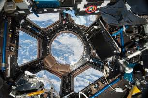 Cupola Space Station View Of The Iss Cupola From Expedition 38 Space