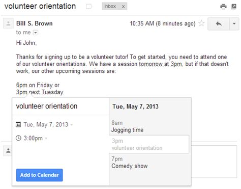 Gmail Search Emails By Date Add Calendar Events Directly From Gmail