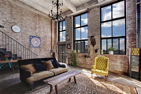 Modern Living Room Decorating Ideas For Apartments the ultimate williamsburg loft is on the market for 7 500