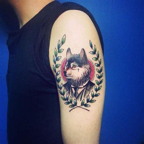 tattoo old school lobo 120 tatuagens masculinas no bra 231 o fotos incr 237 veis