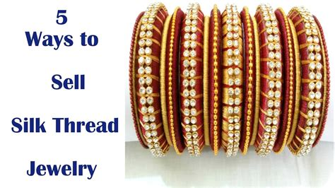 Best Way To Sell Handmade Jewelry - 5 ways to sell silk thread jewelry handmade jewelry by