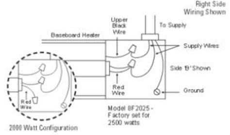 dimplex baseboard heater installation wiring how to wire your baseboard heater