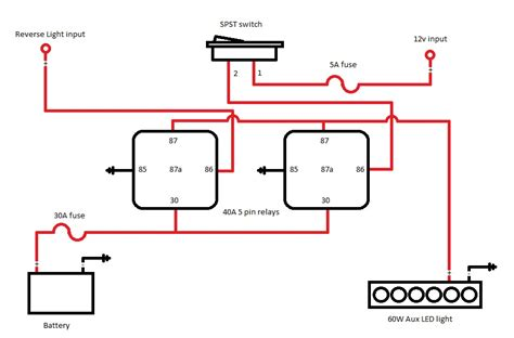 auxiliary light wiring diagram diode 44 wiring