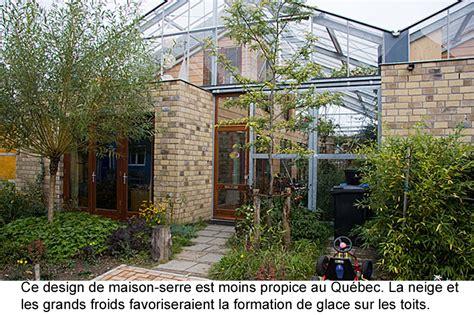 serre quatre saisons maison solaire passive avec serre pour pays froids