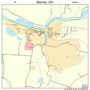morrow ohio map 3952374
