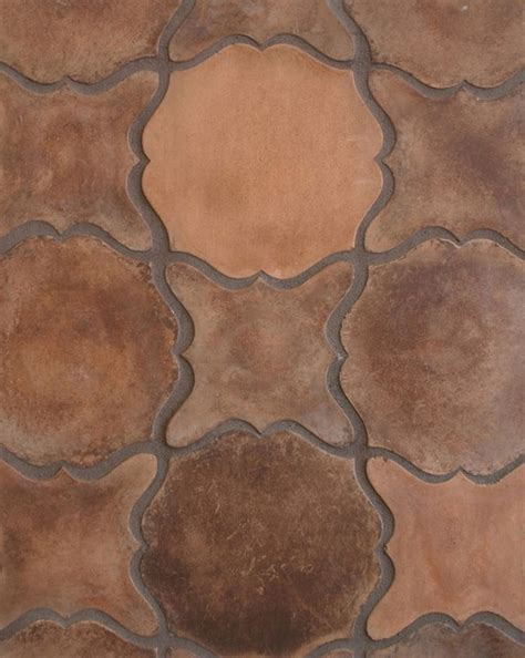 tread pattern in spanish pattern 13 in spanish cotto mediterranean wall and