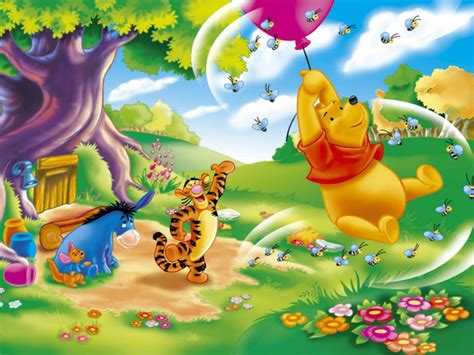 Finding Nemo Wall Mural wallpapers of winnie the pooh