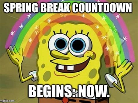 Spring Break Meme - 18 spring break memes for those who get time off and