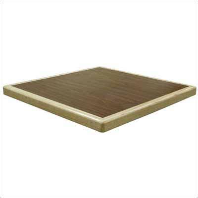 value laminate table top waterfall wood edge
