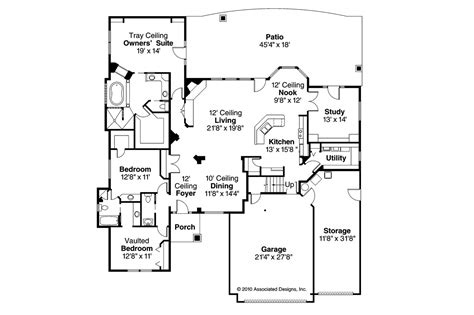 20 Spectacular Ranch House Plans With Loft House Plans Ranch House Floor Plans With Loft