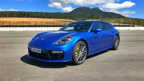 A Porsche Panamera by 2018 Porsche Panamera Sport Turismo First Drive Review