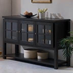 Dining Room Sideboard With Glass Doors Sideboards And Buffets With Glass Doors Foter