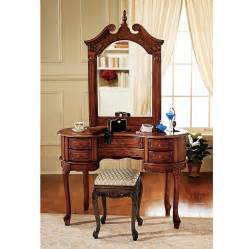 Makeup Vanity Brown Shop Design Toscano Brown Makeup Vanity At Lowes
