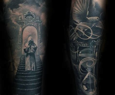 stairway tattoo designs 50 heaven tattoos for higher place design ideas