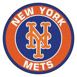 new york mets colors new york mets logo roundel mat 27 quot area rug