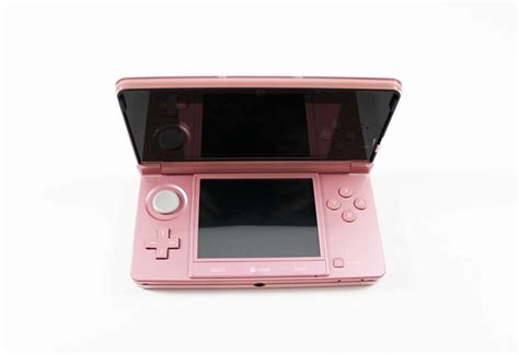 nintendo 3ds handheld console pearl pink ebay nintendo 3ds pearl pink system