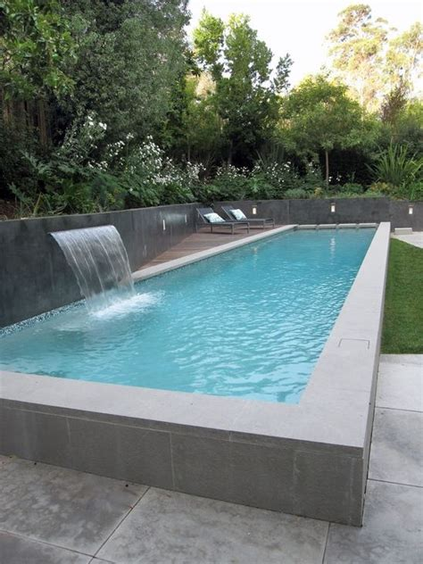 backyard lap pool elevated lap pool highland outdoor spaces pinterest