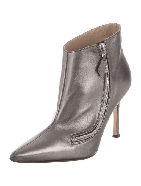pointed toe ankle boots manolo blahnik pointed toe ankle boots shoes moo55061