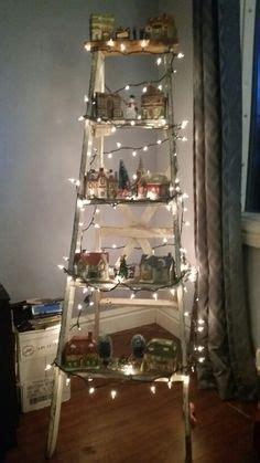 christmas village ladder display 1000 images about ladder display ideas on ladder shelves ladder and ladder