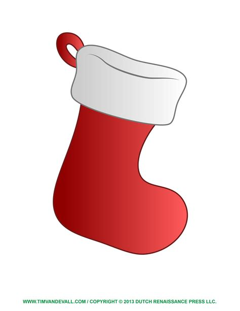 christmas stocking decorations printable free christmas stocking template clip art decorations